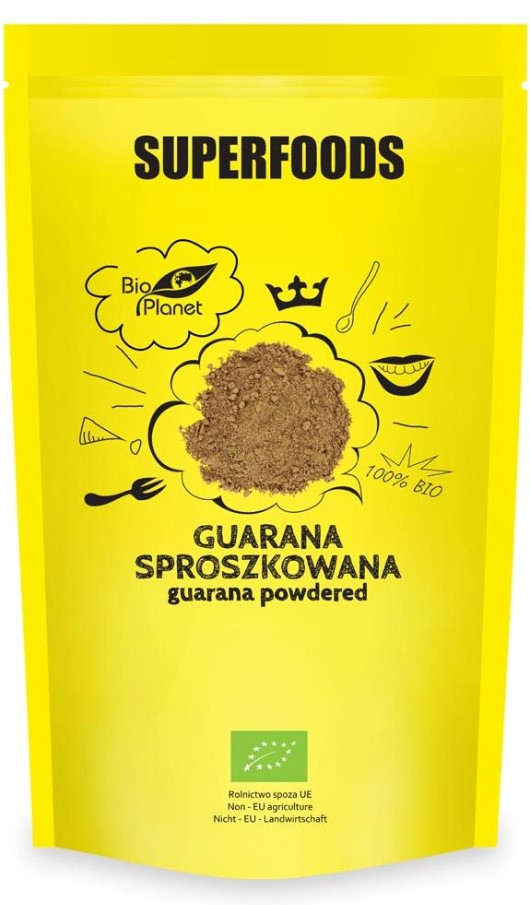 Bio Planet, Guarana Powdered, 150g