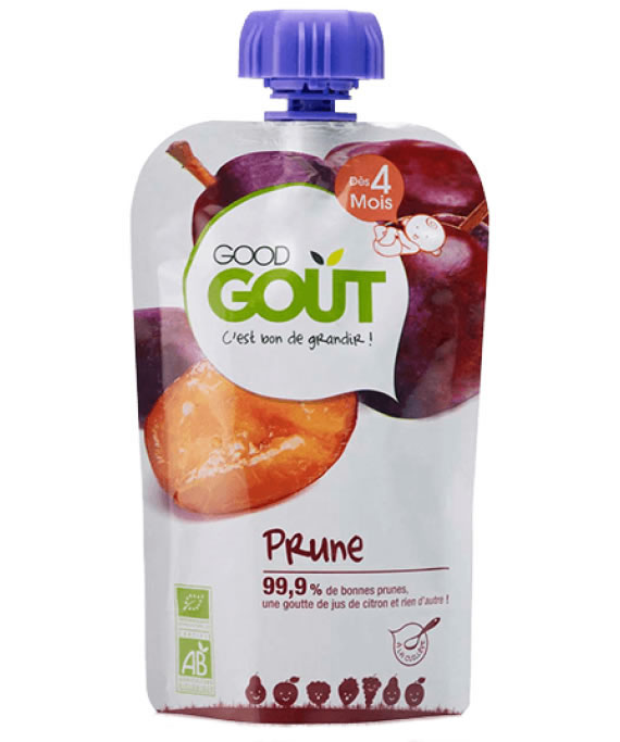 Good Gout, Prune Fruit Puree 4m+, 120g