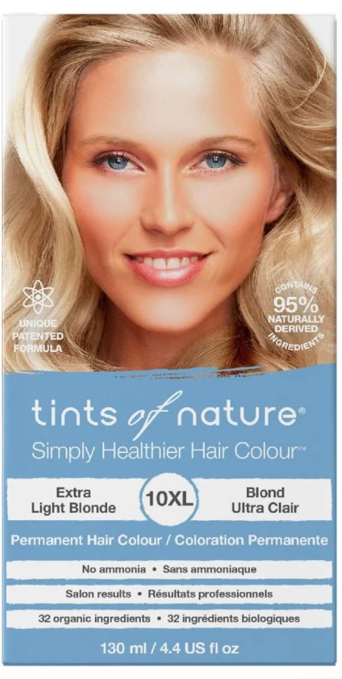 Tints of Nature, 10XL Extra Light Blonde Permanent Hair Colour