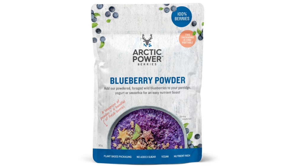 Arctic Power Berries, Blueberry Powder, 30g