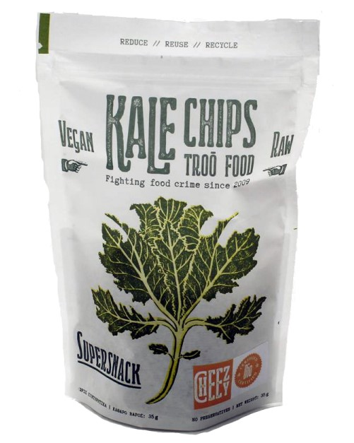 Troo Food, Kale Chips Cheezy, 35g