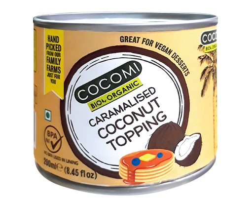 Cocomi, Caramalised Coconut Topping, 240g