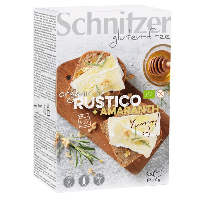Rustico with Amaranth, 500g