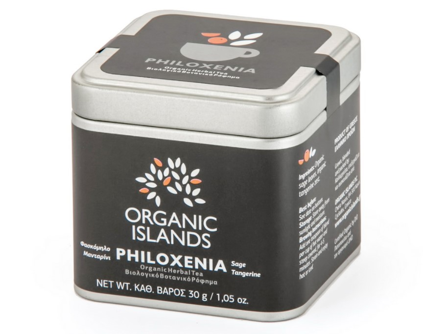 Organic Islands, Philoxenia Herbal Tea, 30g