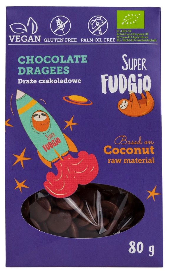 Me Gusto, Super Fudgio Chocolate Dragees, 80g