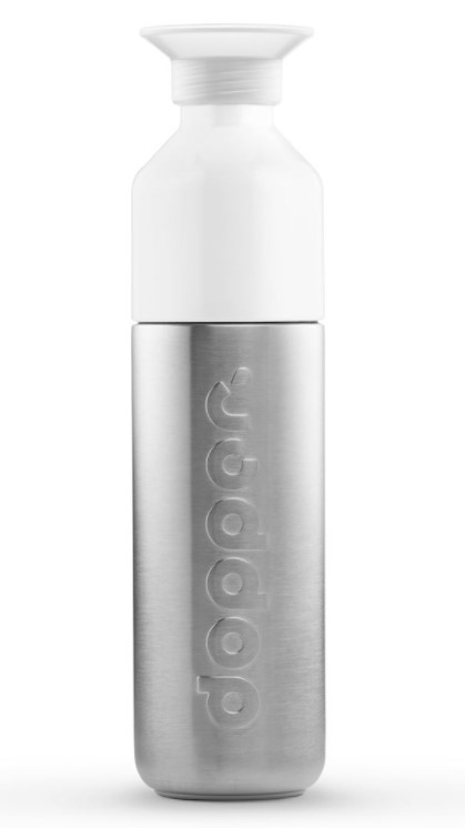 Solid Steel Water Bottle, 490ml