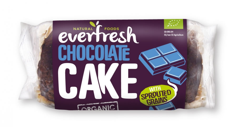 Everfresh, Chocolate Cake with Sprouted Grain, 350g