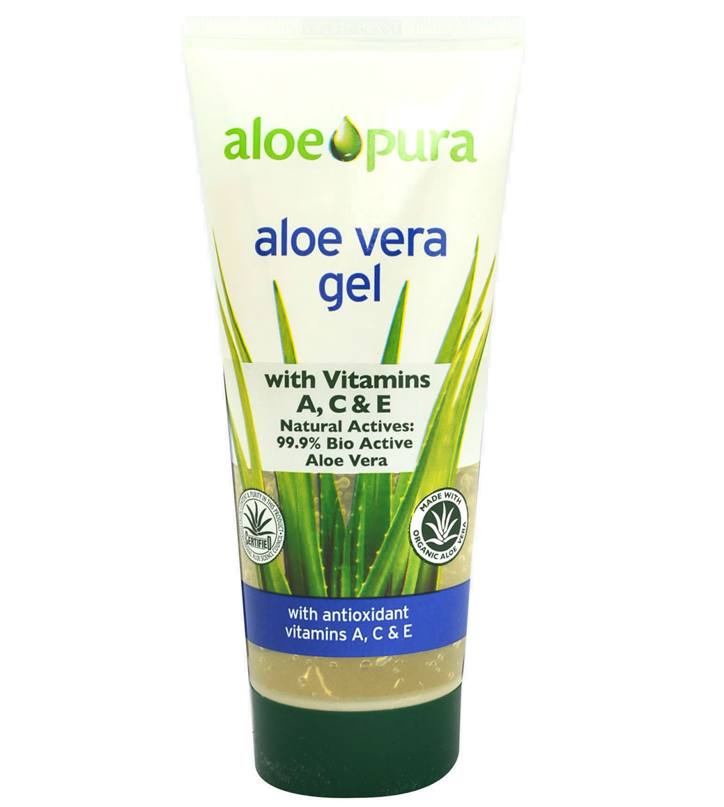 Aloe Vera Gel with A,C & E, 200ml