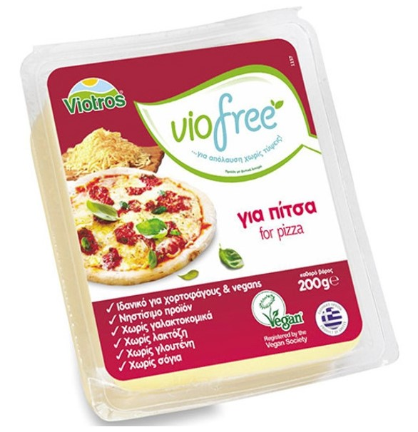 Viofree, Cheese for Pizza, 200g