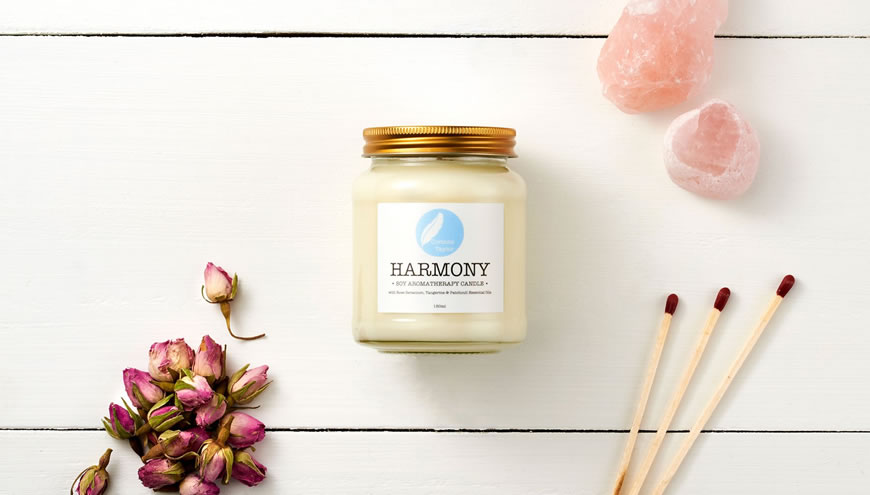 Corinne Taylor, Harmony Soy Aromatherapy Candle 150ml