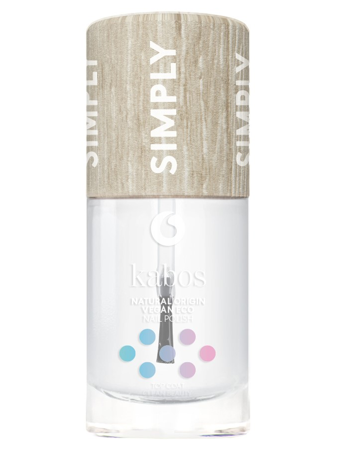 Kabos, Nail Polish Simply Top Coat Clean Beauty