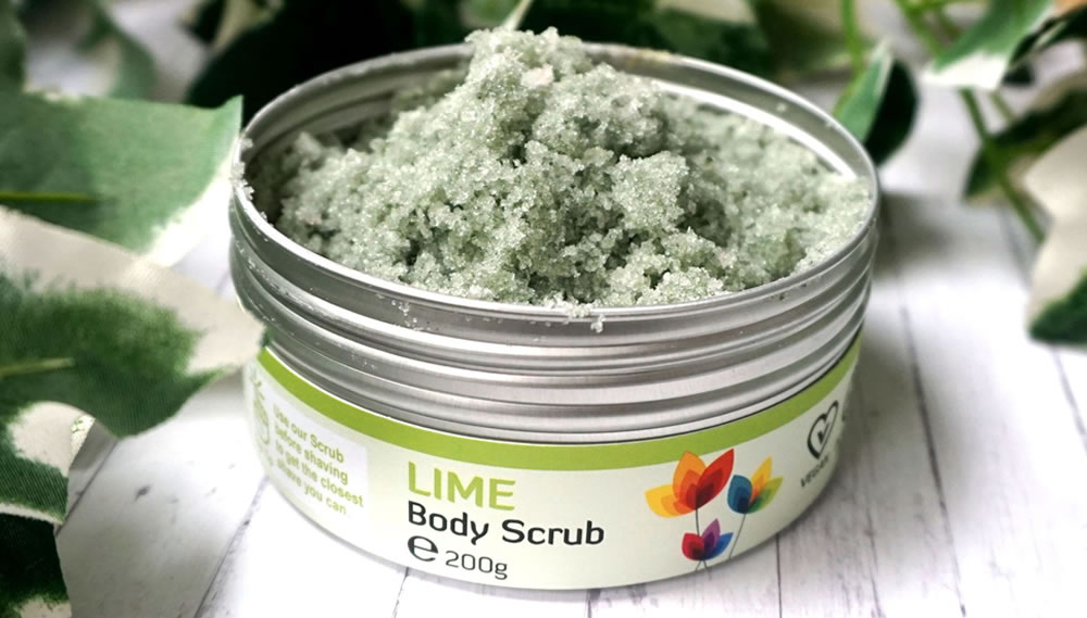 The Natural Spa, Lime Body Scrub, 200g