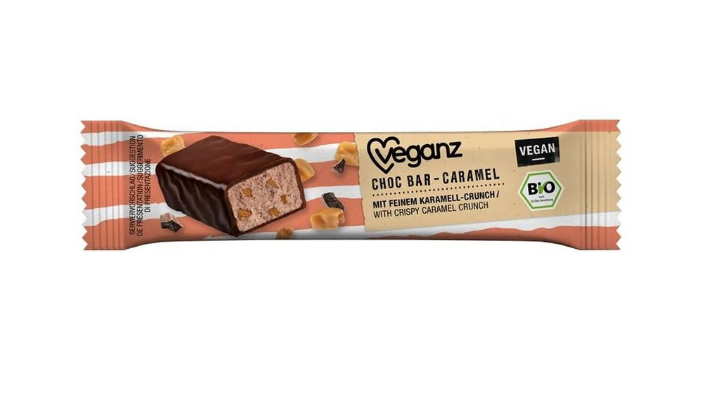 Veganz, Caramel Chocolate Bar, 35g