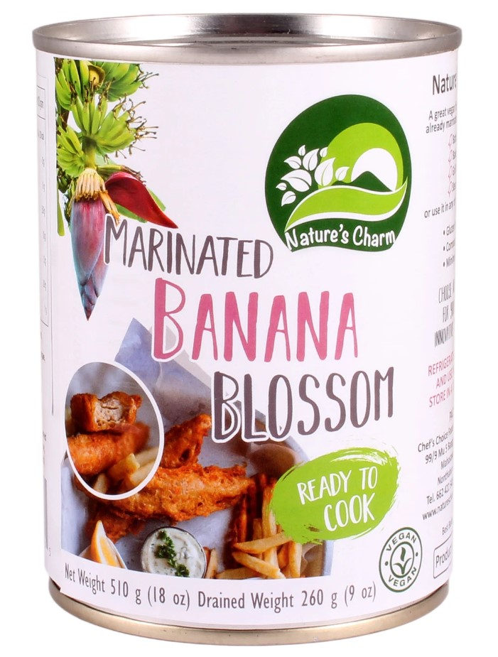 Nature's Charm, Banana Blossom Marinated, 510g