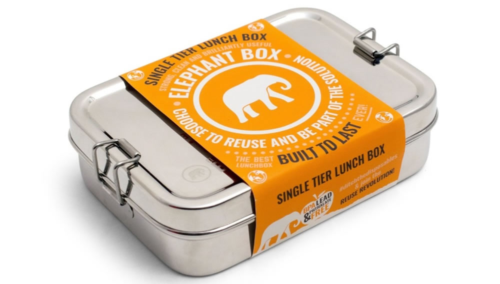 Elephant Box, Single Tier Lunch Box