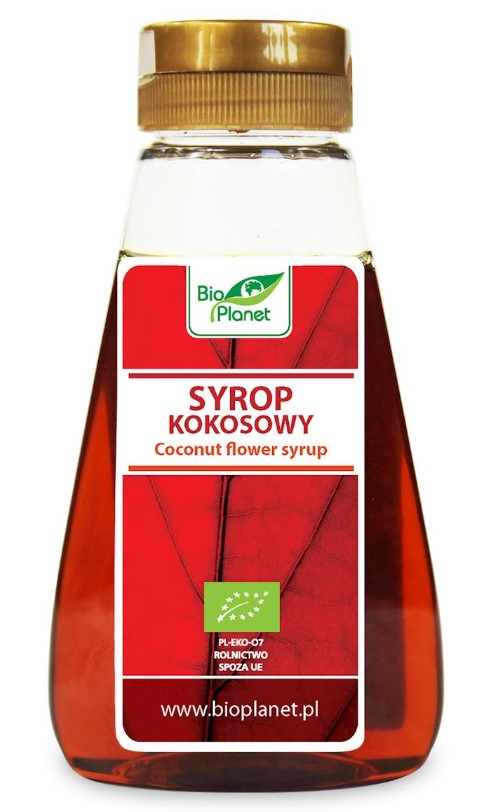 Bio Planet, Coconut Flower Syrup, 250ml