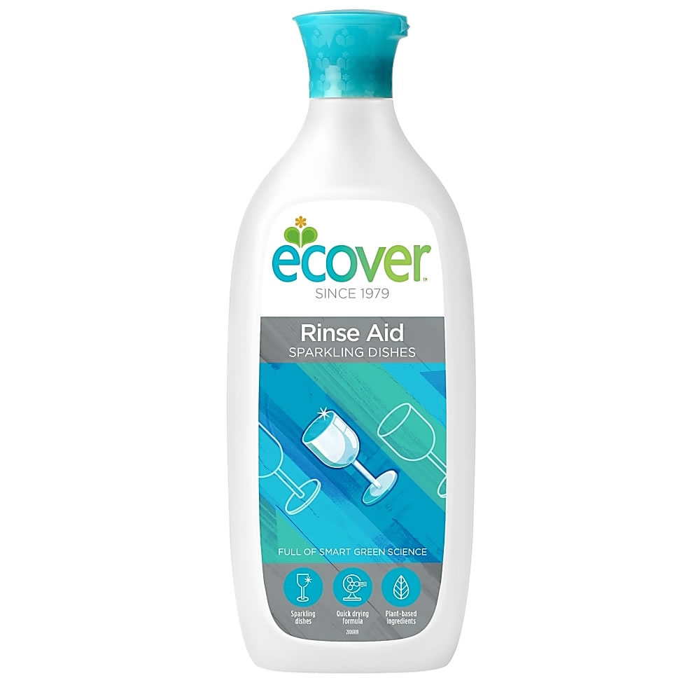 Ecover, Rinse Aid Sparkling Dishes, 500ml
