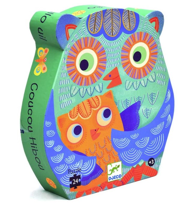 Djeco, Hello Owl, 3+ years