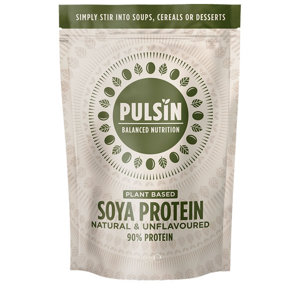 Pulsin, Soya Protein Isolate - 100% Natural, 250g