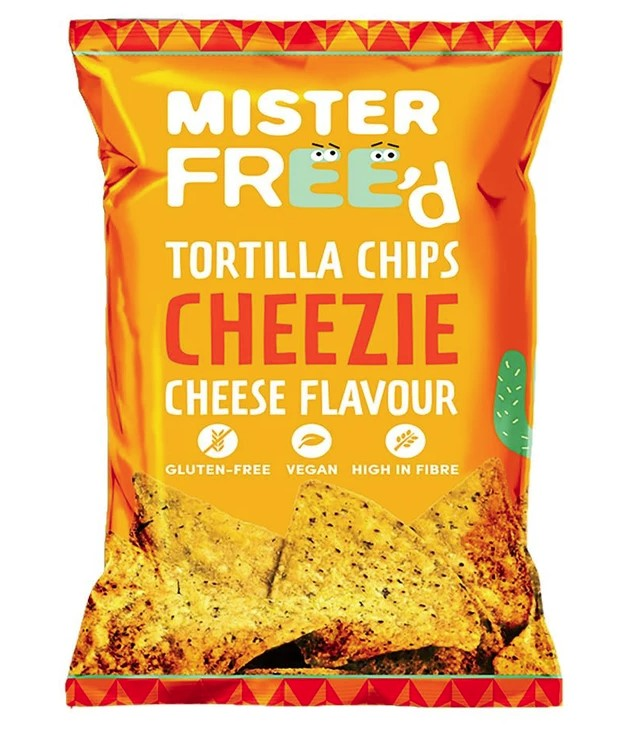 Tortilla Chips Cheezie Cheese Flavour, 135g