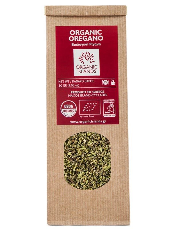 Organic Islands, Oregano, 30g