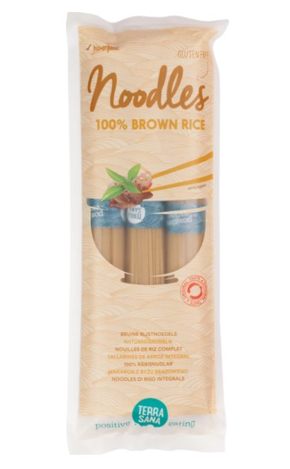 Terrasana, Brown Rice Noodles, 250g