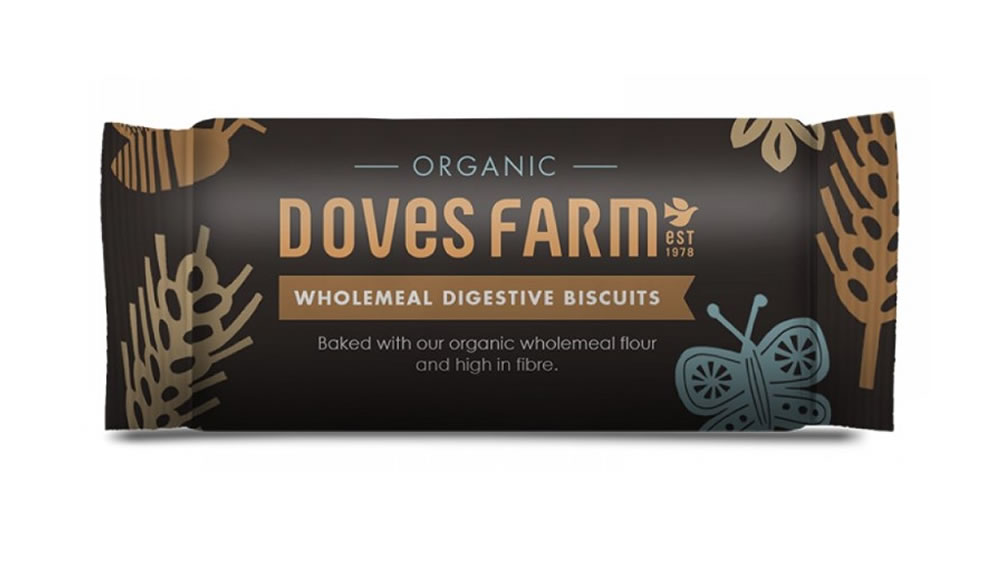 Doves Farm, Wholemeal Digestive Biscuits, 200g