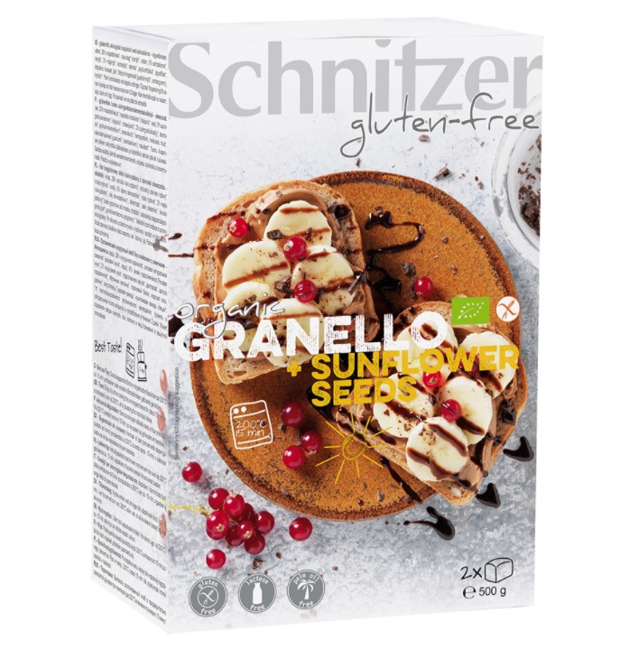 Schnitzer, Granello with Sunflower Seeds, 500g