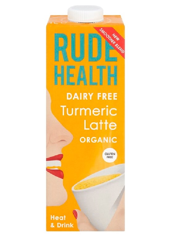 Rude Health, Turmeric Latte, 1L