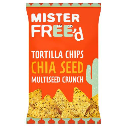 Tortilla Chips Chia Seeds, 135g