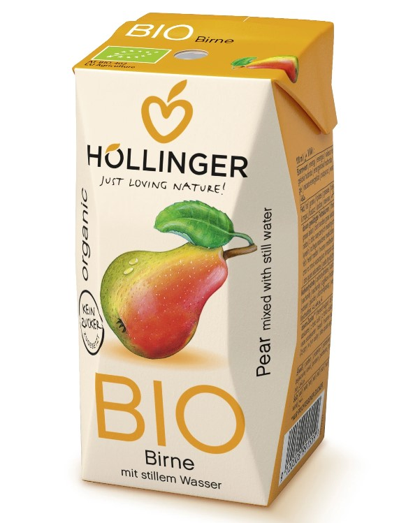 Hollinger, Pear Juice for Kids, 200ml