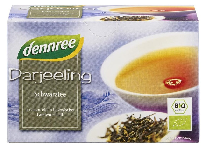 Dennree, Black Tea, 20 bags