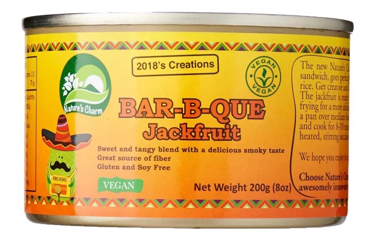 Nature's Charm, Barbecue Jackfruit, 200g