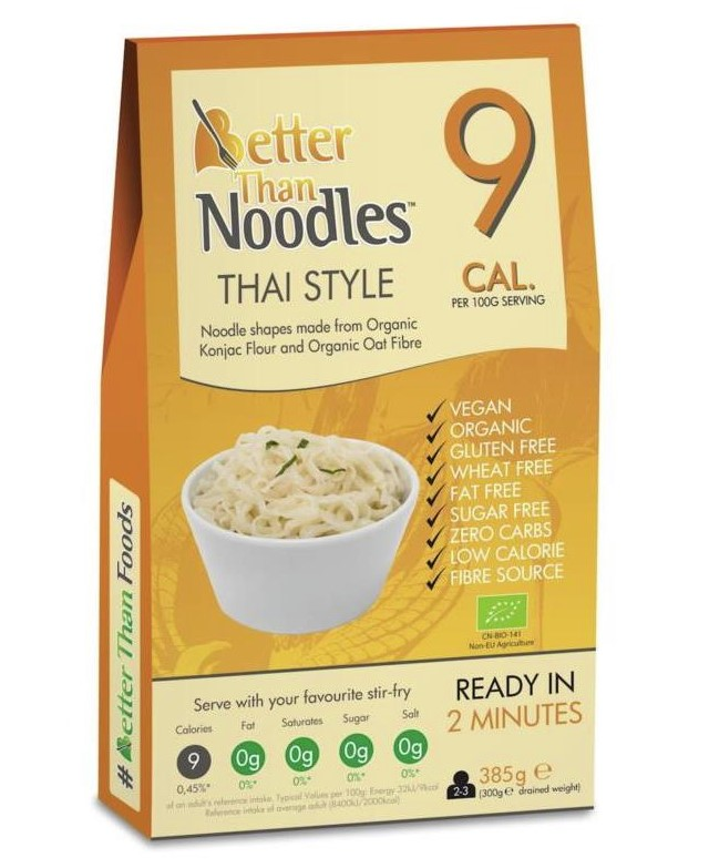 Better Than Foods, Noodles Thai Style, 385g