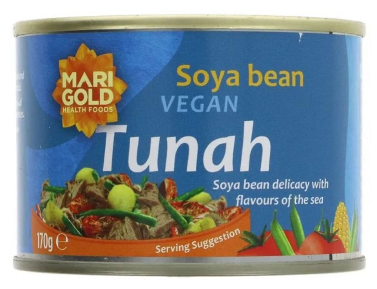 Marigold, Vegan Tunah In Cans, 170g