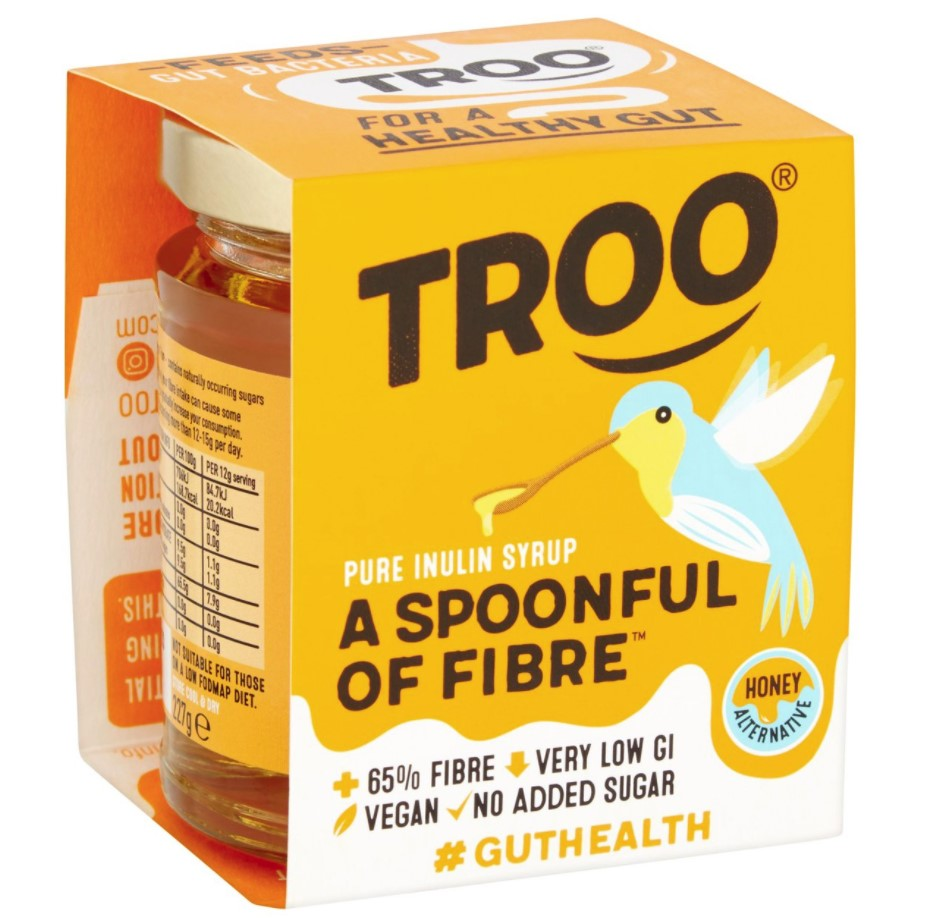 Troo, Spoonful of Fibre Inulin Chicory Syrup, 227g