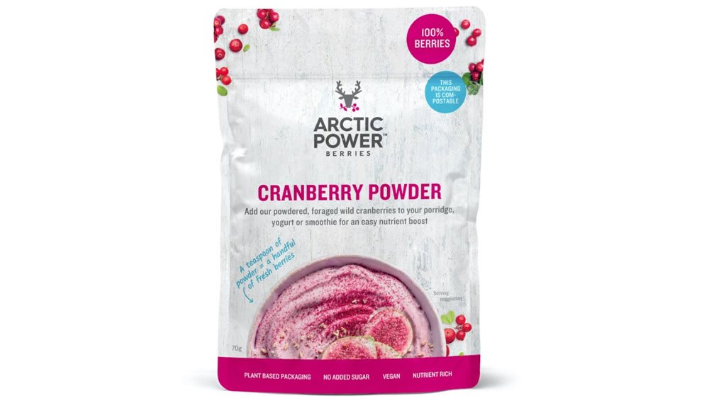 Arctic Power Berries, Cranberry Powder, 70g
