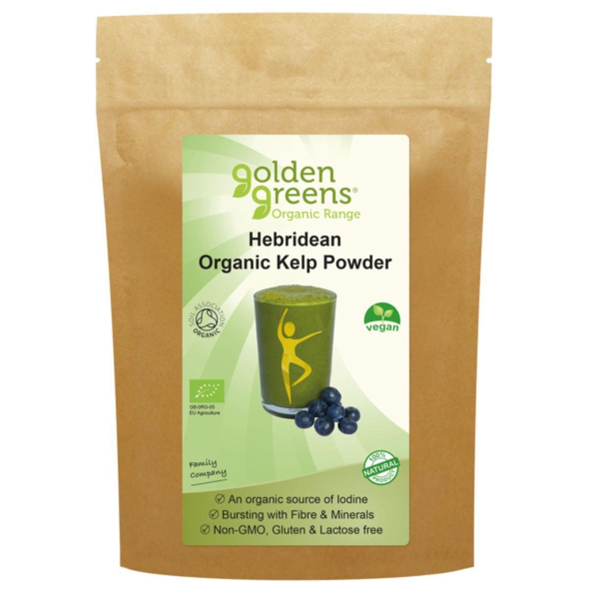 Golden Greens, Hebridean Kelp Powder, 100g
