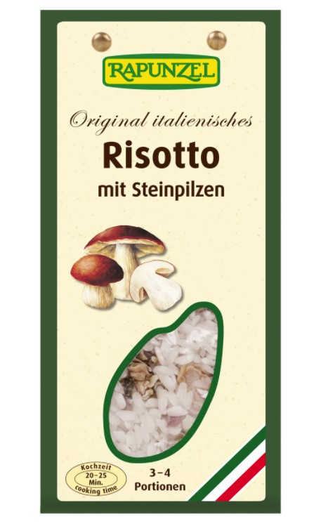 Rapunzel, Italian Risotto with Porcini Mushrooms, 250g