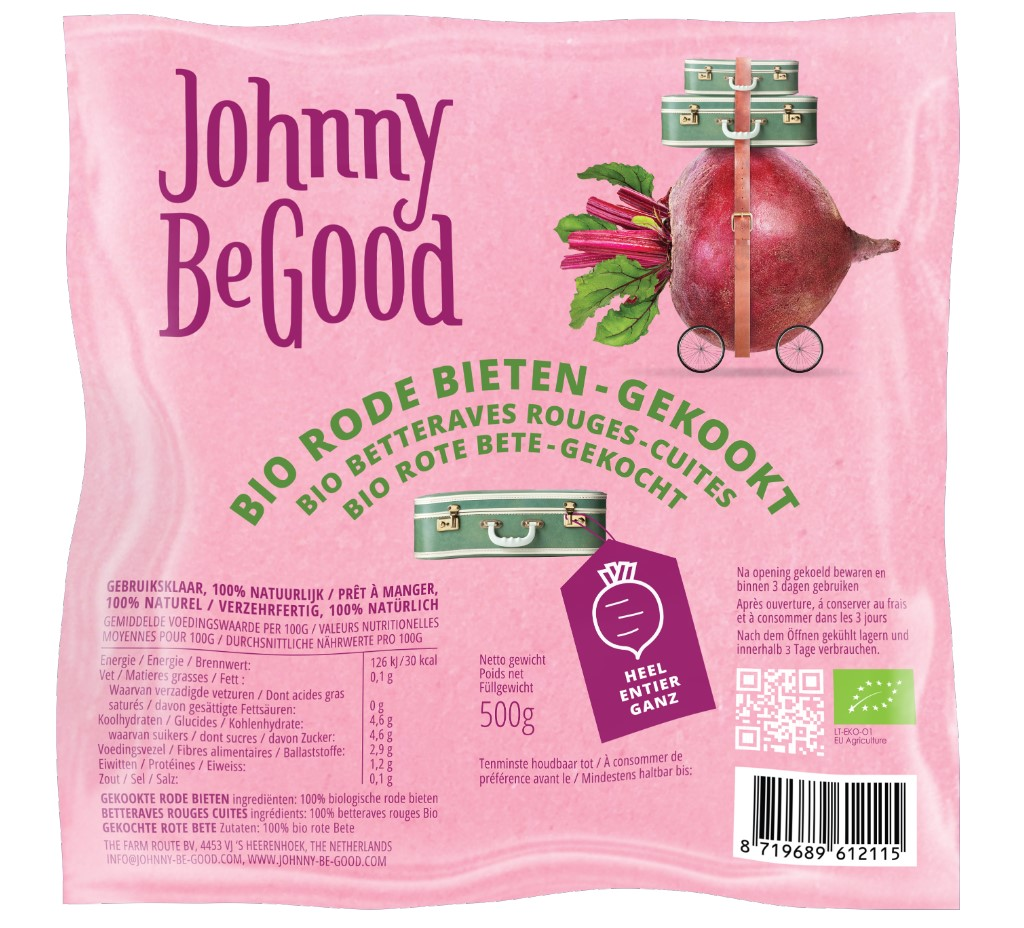 Organic, Beetroots Boiled, 500g