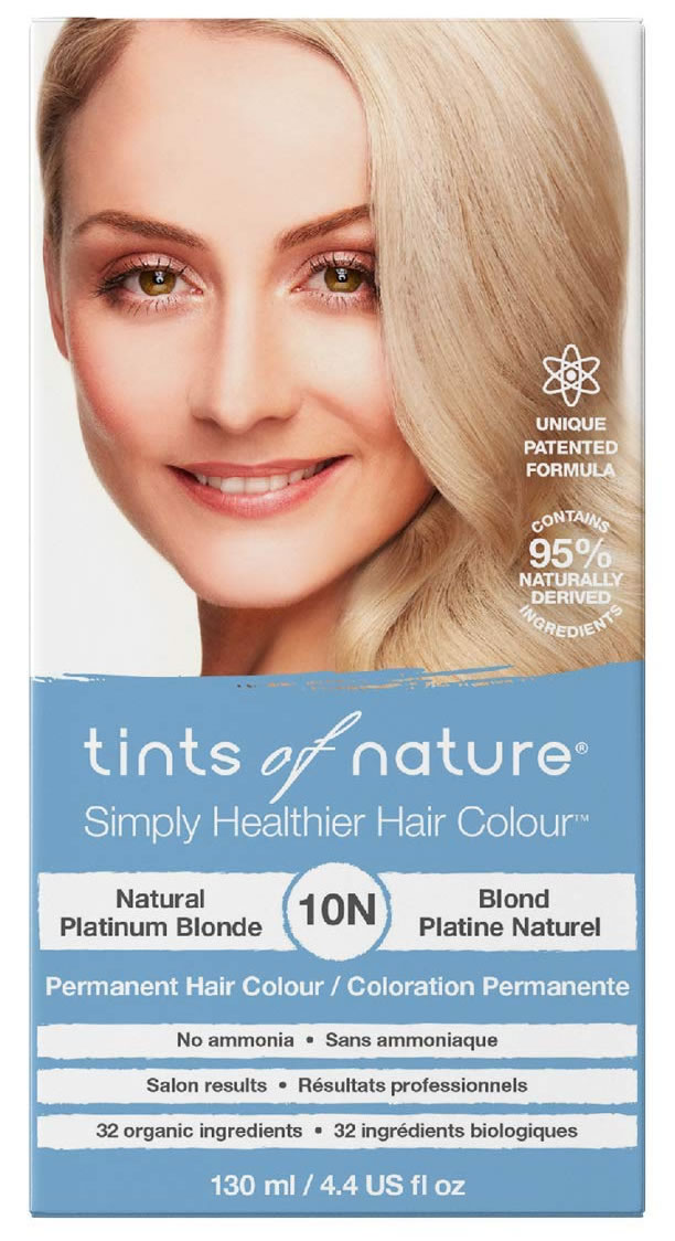 Tints of Nature, 10N Natural Platinum Blonde Permanent Hair Colour